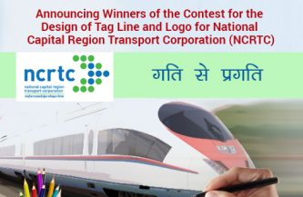 Announcing winners of the contest for design of Logo and Tagline for National Capital Region Transport Corporation Ltd (NCRTC)