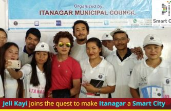 Jeli Kayi joins the quest to make Itanagar a Smart City