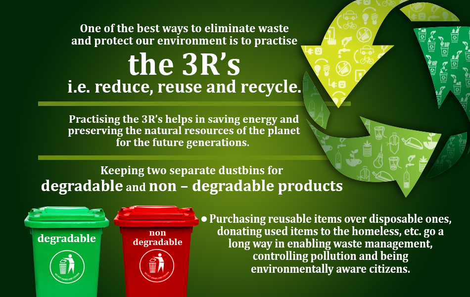 3r Reduce Reuse Recycle