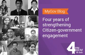 MyGov Blog – Four years of strengthening Citizen-Government engagement