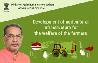 Development of agricultural infrastructure for the welfare of the farmers
