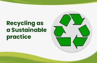 Recycling as a Sustainable practice