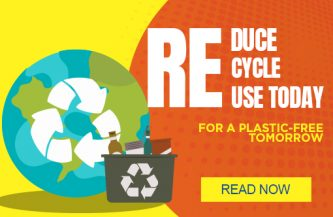 Reduce, Recycle & Re-Use Today for a Plastic-Free Tomorrow