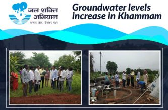 Groundwater levels increase in Khammam