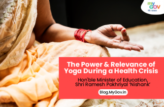 The power and relevance of yoga during a health crisis